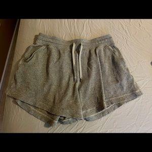Lululemon Mellow In High Rise Shorts 10 Hthr Gray